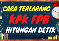 Rahasia CARI KPK FPB dalam hitungan detik Pakai Excel di HP dan Komputer